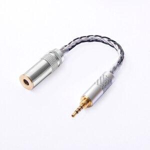 Image 1 - OKCSC OFC Adaptateur 2.5mm Interface Mâle 4.4mm Équilibré Femelle Prise Audio Stéréo Câble 8 Noyaux pour SONY PHA 2A TA ZH1ES NW WM1Z