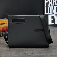 Office Bags for Men Work Bag  Brief Sacoche Homme Maletin Hombre Cuero Briefcase Portfolio PU Leather Conference Data Package