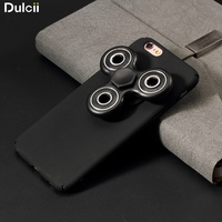 For IPhone7 Plus 5 5 Inch Case Tri Fidget Spinner Matte PC Back Cover For IPhone