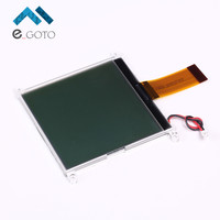 3 3V 160160A LCD Display Module Black Character W Location Hole Grey Screen 160x160 Parallel Port