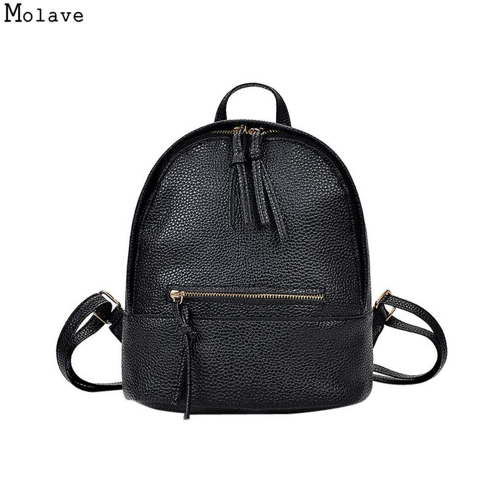 a11cedc5a7 Backpack For Teenage Girls School Bags stylish fashion school backpacks  High Quality PU Leather Women Leisure bag hot sale nov06