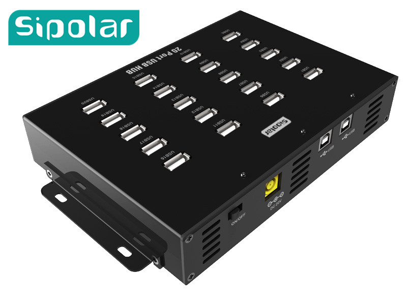 20 ports USB Charger HUB with dual usb 2.0 adapter
