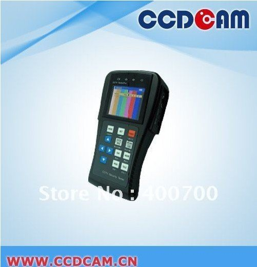 CCDCAM ET-890  2.8TFT-LCD, LCD Brightness multifunction cctv tester for cctv camera sytem
