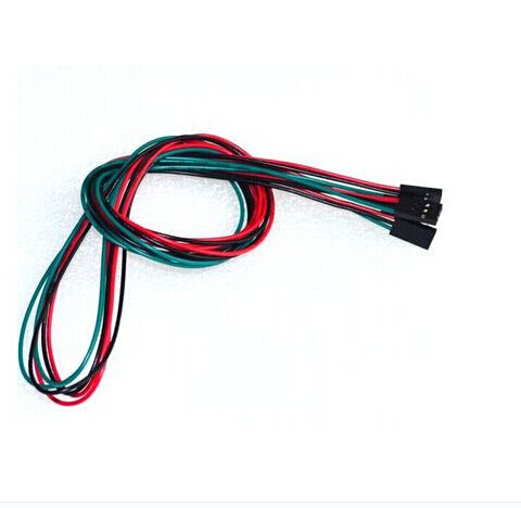 1pcs 70cm 3pin F-F Dupont Line Female To Female Cable For 3D Printer Parts