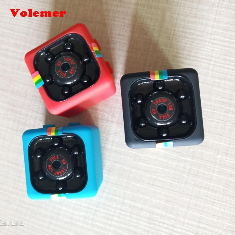 Volemer SQ11 Mini Kamera 1080 p Sport DV Mini Infrarot Nachtsicht Monitor Camcorder kleine kamera Auto DV Digital Video recorder