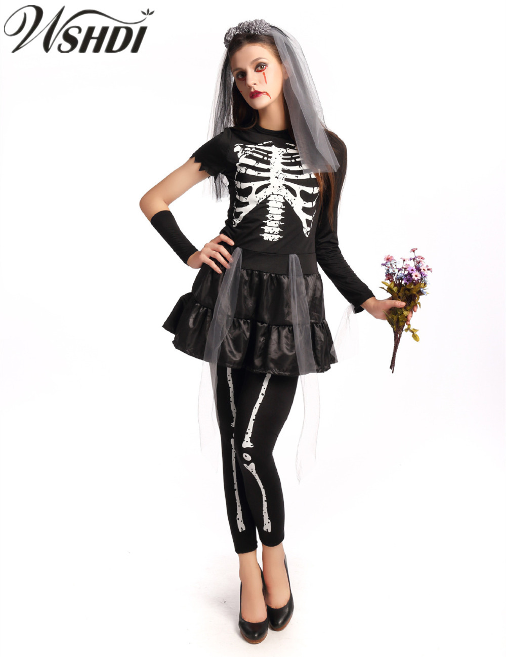 Sexy Bride Halloween Costume Promotion-Shop for Promotional Sexy ...