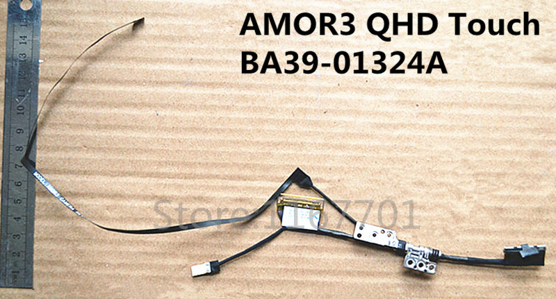 Laptop/Notebook LCD/LED Cable&Left Hinges/Axis for Samsung ATIV Book 9 Plus <font><b>NP940X3G</b></font> 940X3K BA39-01324A AMOR3 QHD TS Touch image