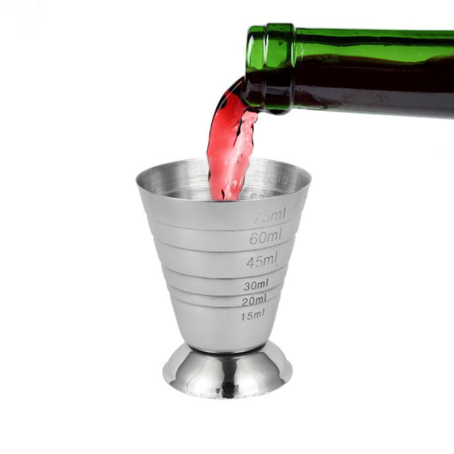 Stainless Steel Jigger Cup for Measuring Points