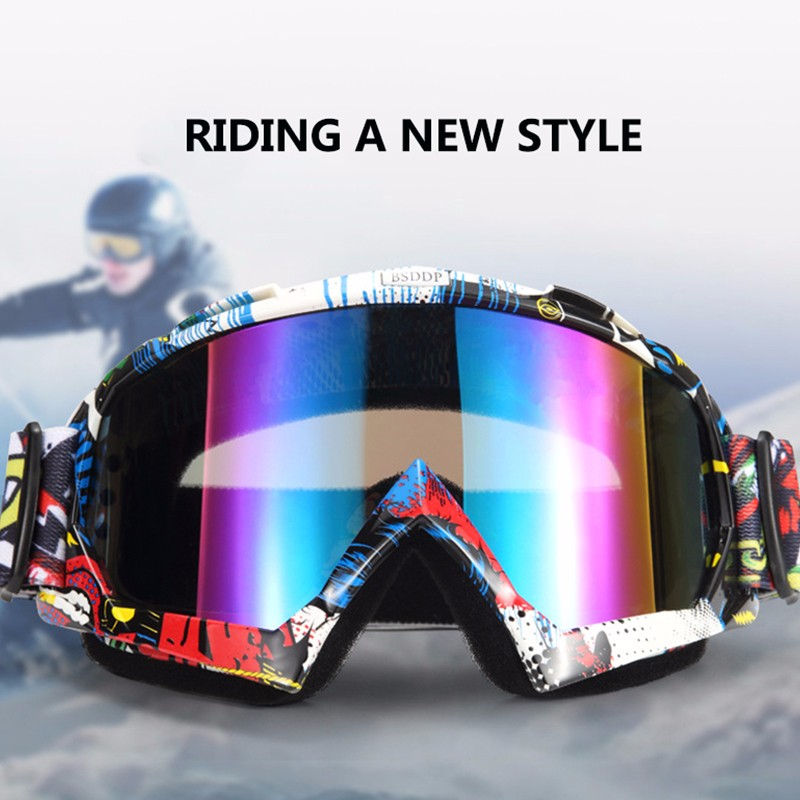 New Motocross Goggles Glasses Oculos Cycling MX Off Road Helmet Ski Sport Gafas For Motorcycle Dirt Bike Racing Goggles feidu мода steampunk goggles sunglasses women men brand designer ретро side visor sun round glasses women gafas oculos de sol