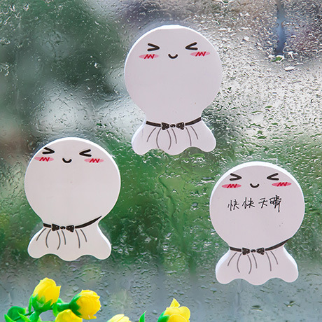 Cute Cartoon Schedule Memo Stickers Sticky Notes Message Pad Sunny Doll Novelty  Office Supplies School Stationery Scratch