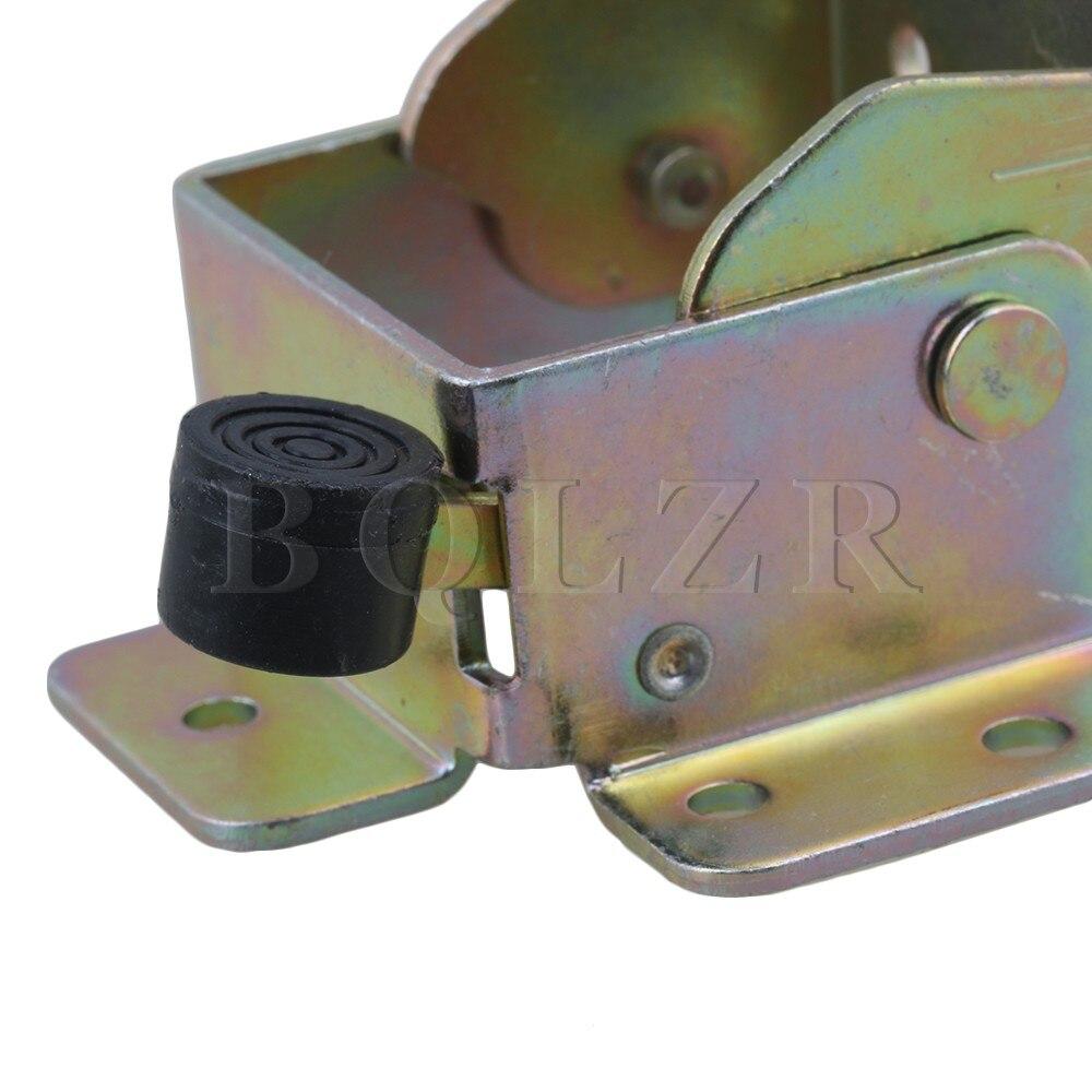 Qlzr 4 шт. железный замок приставной столик кровать ногу Средства ухода за кожей Стоп Складной передний тормоз Поддержка