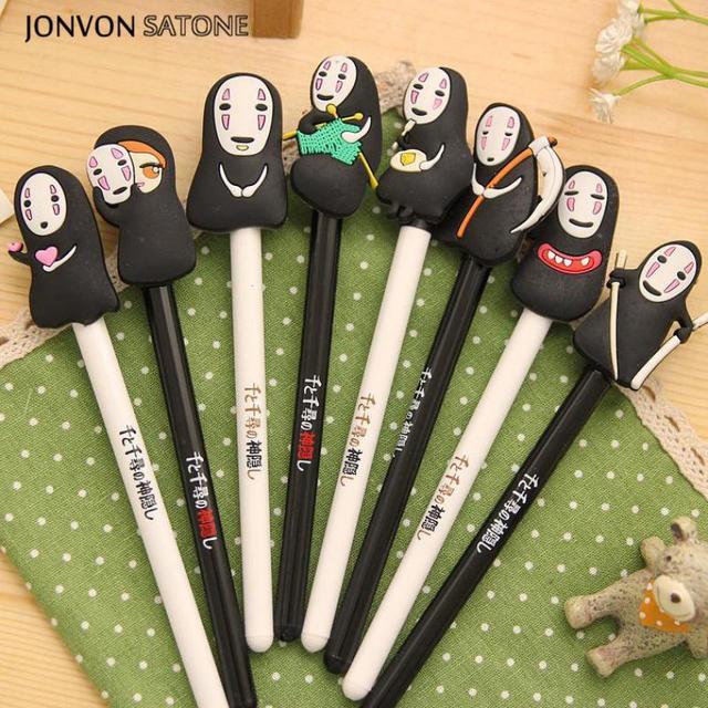 jonvon satone 8pcs lot cute anime neutral pen korean stationery