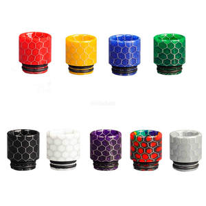 Wide Bore Snake skin Delrin Mouthpiece 810 Drip Tip for coilart mage rta 2019horizon falcon kingskrr
