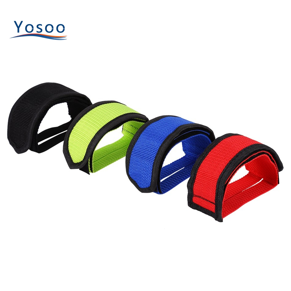1pc Nylon Bicycle Pedal Straps Belt Fixed Gear Bike   Tape Cycling Fixie CoverEP