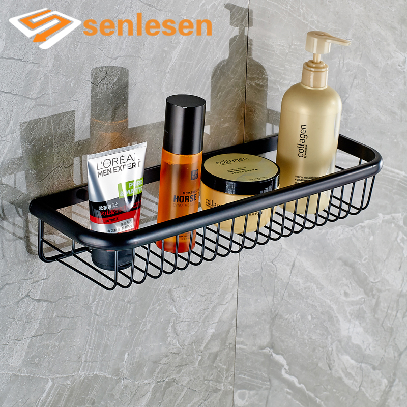 Oil Rubbed Bronze Bathroom Shelves