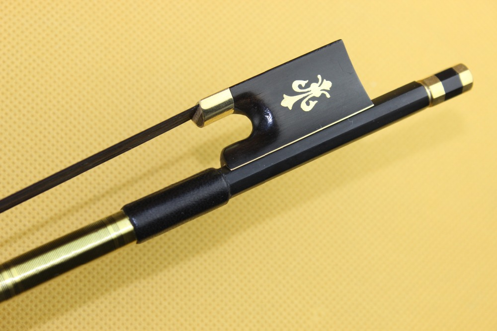 hot sale high quality black carbon fiber violin bow 4 4 full size black horse hair in violin. Black Bedroom Furniture Sets. Home Design Ideas