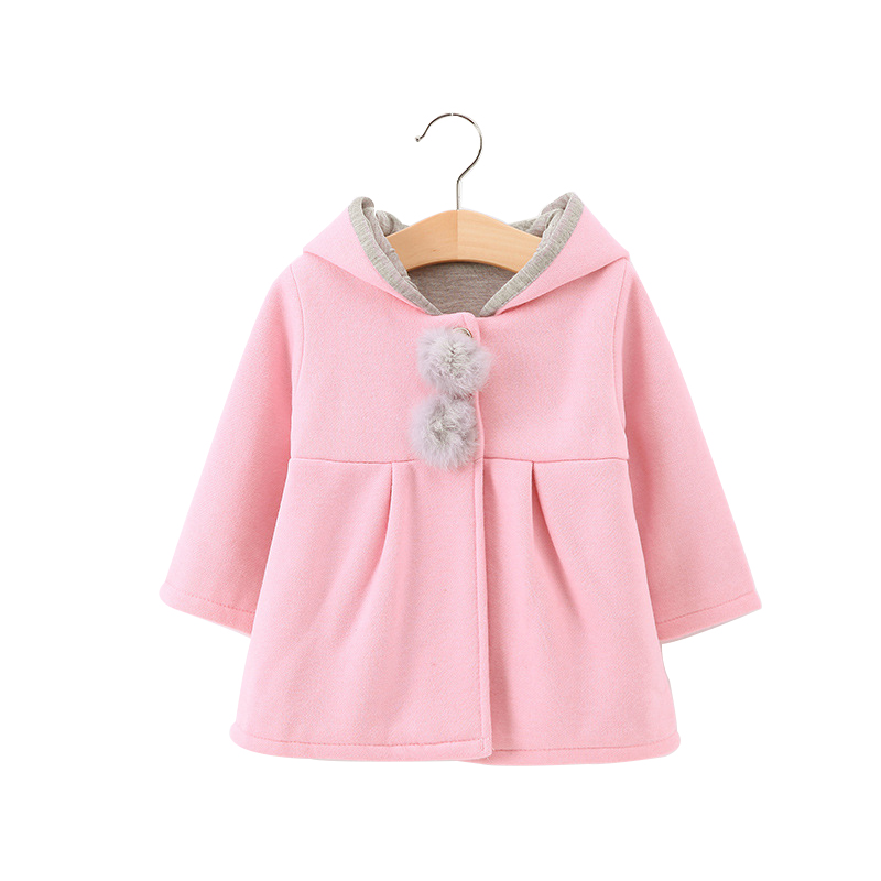 978509468 Winter Autumn Baby Girl Long Sleeve Coat Jacket Korean Style Rabbit ...