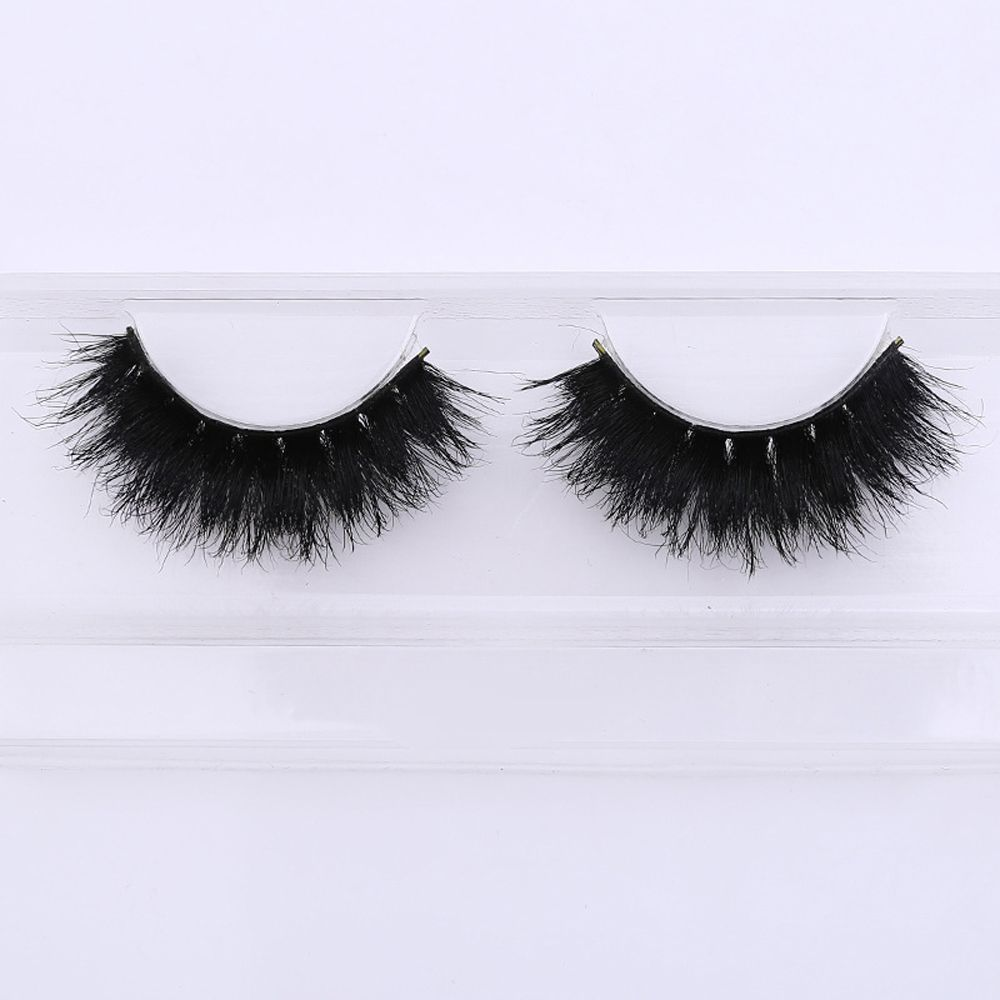 Apprehensive 1 Pair Handmade Eye Lashes Soft 100% Real Horse Hair Thick Long Full Size False Eylashes Extension Makeup Tools Beauty Essentials