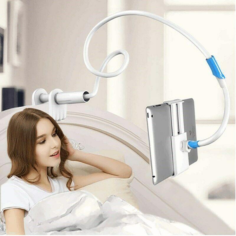 Flexible 360º Lazy Bed Gooseneck Desk Mount Stand Holder For IPad Android Tablet