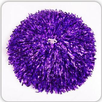 purple Small cheer pom poms 5c64fbbde4060
