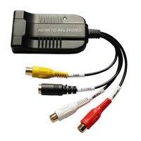 HDMI AV cvbs S-video Converter Adapter Composito Rl Audio Multimediale Ad Alta Definizione Interface1080P Video Converter Box