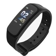 C1 Smart Bracelet Fitness Dynamics Color Screen Waterproof Activity Heart Rate Monitor Blood Pressure Measurement