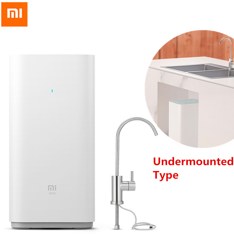 Original Xiaomi Water Purifier Xiaomi Water Purifier Home Water Filters Clean Health Water & WIFI Android IOS Phone App