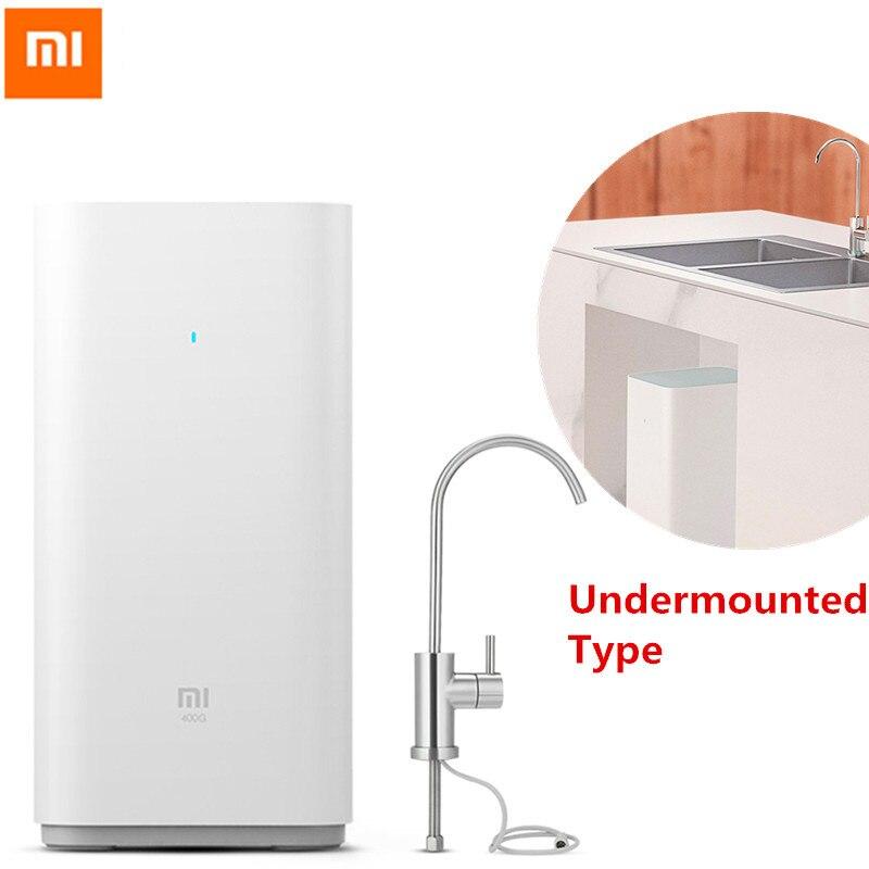 Xiaomi original purificador de água xiaomi purificador de água em casa filtros de água de saúde limpa & wifi android ios telefone app