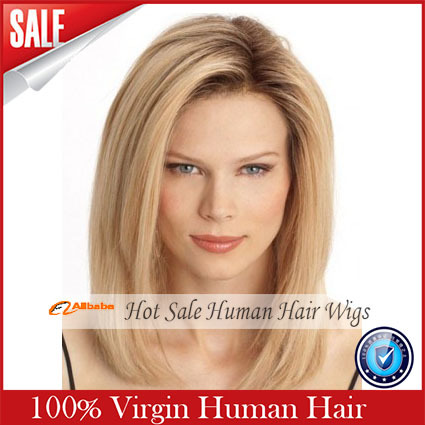 2017 Real Rushed 130 Lace Wigs 6a Grade Full Blonde Ombre Lace Wig font b Straight