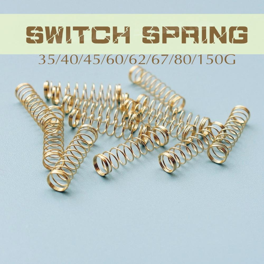 Mechanical  Keyboard Switches Spring For Cherry MX DIY Gaming 35G 40G 45G 60G 62G 67G 150G 80G 35 Gram Spring 110pcs