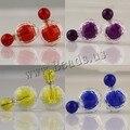 Новинка ювелирные изделия двойной серьги brincos конфеты цвет серьги для женщин SE924