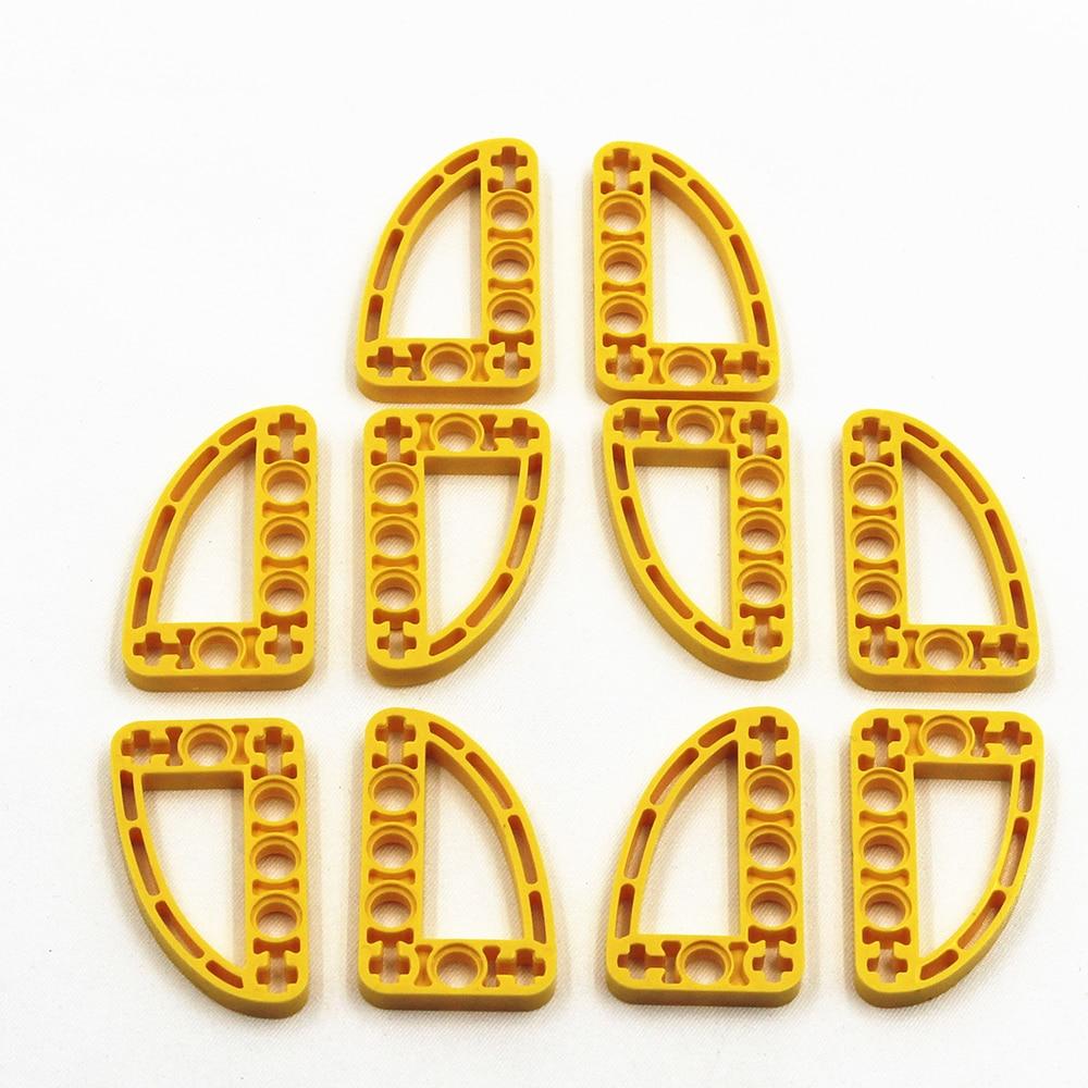 Self-Locking Bricks -- MOC Building Blocks 20PCS HALFBEAM CURVE 3X5 Compatible With Lego NOC4128554