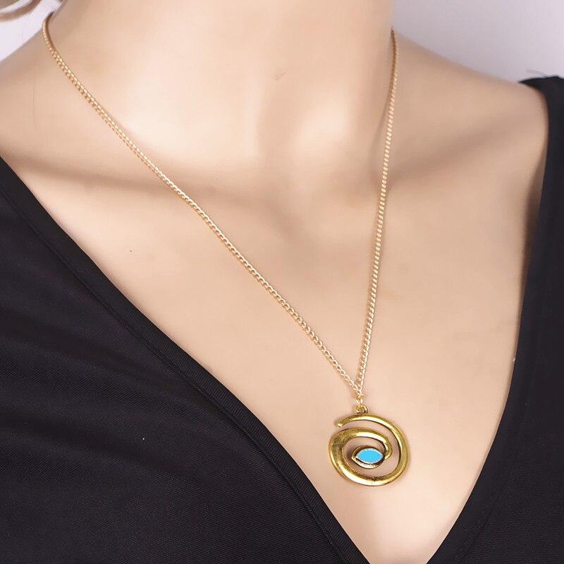 1PC Choker Necklaces font b Women b font Party Retro Personality Antique Vintage Tadpole Ethnic Necklace
