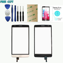 Touch Screen Original For LG G3 S Mini Beat D722 D724 Glass Panel Digitizer Connector Replacement Parts + Film +Sticker+Tools
