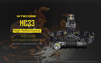 Распродажа 2019 NITECORE HC33 фары 1800 люмен CREE XHP35 HD водонепроницаемый светодиодный фонарик Открытый Отдых Путешествия Охота Бесплатная доставка