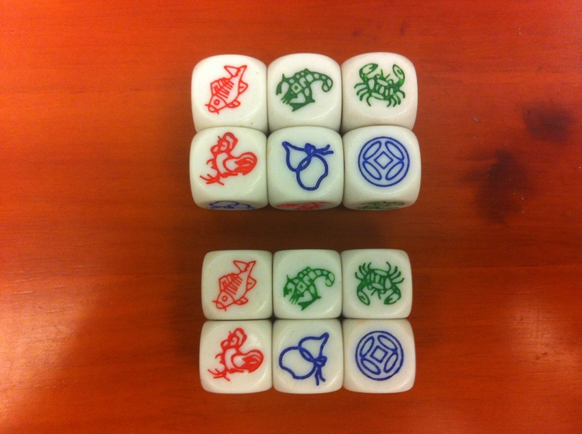 Chinese dice gambling game money wheel gambling