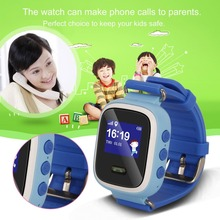 Q60 Kid Smart Watch Wristwatch SOS Call Location Finder Locator Device Tracker for Kid Safe Anti Lost Monitor Safe-Keeper Gift