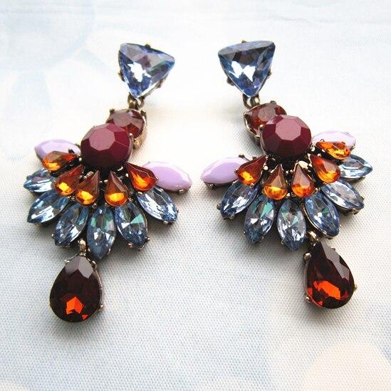 2015 High Quality New Fashion Sexy Brief Crystal font b Earring b font font b Jewelry