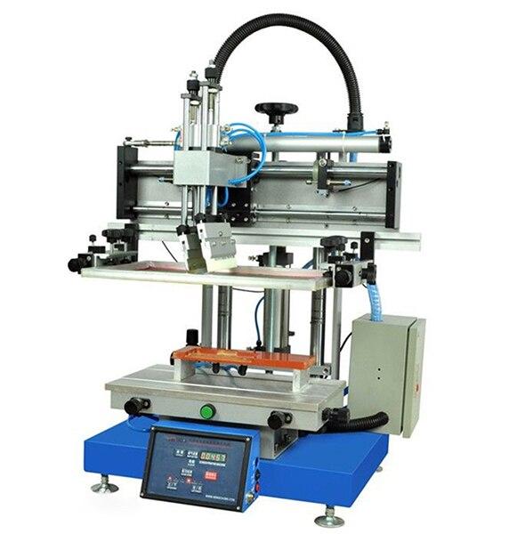 silk screen printing machine, desktop silk screen printing machine, cheap flat bed silk screen printing machine silk