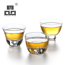 TANGPIN odporny na wysoką temperaturę szklana filiżanka do herbaty transparenty herbaty szklanka kung fu kubek naczynia do picia tanie tanio Szkło Przezroczysty ROUND Lfgb Ce ue Zaopatrzony Ekologiczne TP5469958879CN Glass Transparents 1 glass cups Glass teacup tea cup glass glass cup glass cups for coffee coffee cup