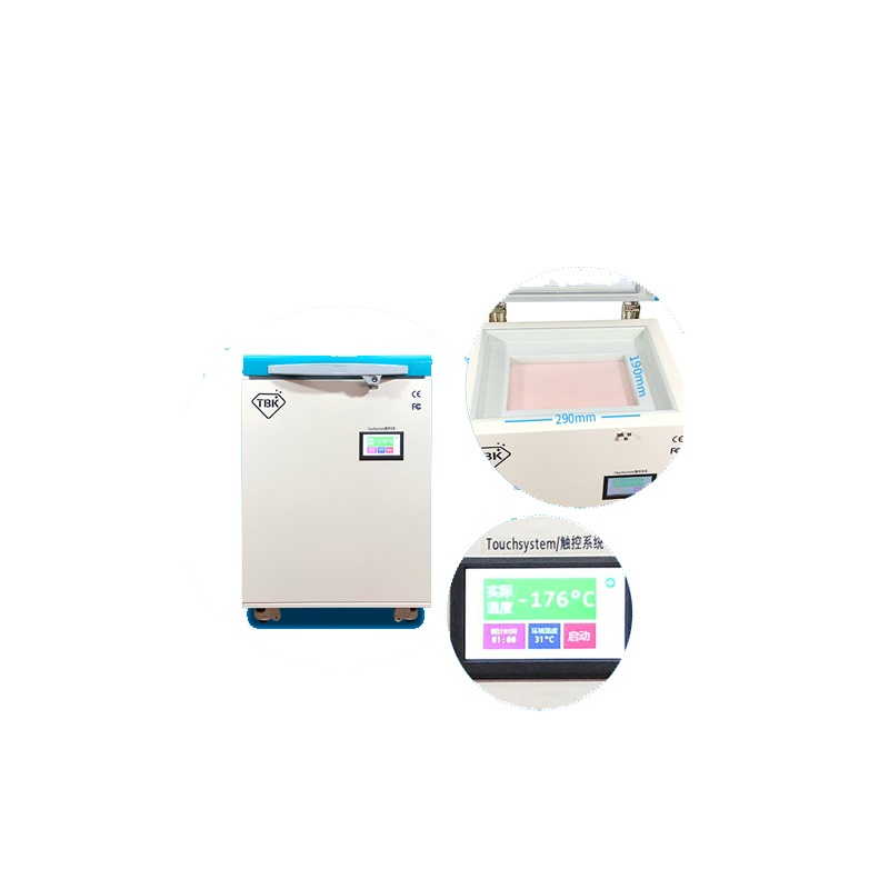 TBK 578 Touch Screen Glass Frozen Separator Freezing Machine For Mobile LCD Separating