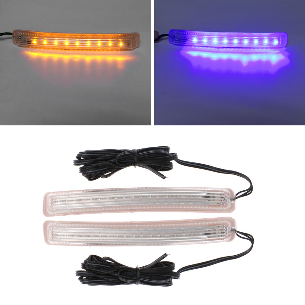 12v Car Auto 9 18 Led Side Door Mirror Soft Turn Signal
