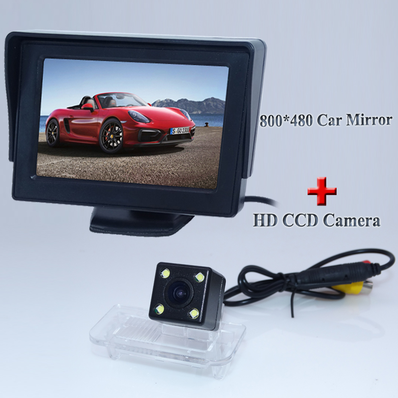 Car Rearview Camera monitor Rear View reversing parking camera for Mercedes- Benz C/E/CLS/W203/W211/W209/B200 A160 W219 GLS 300