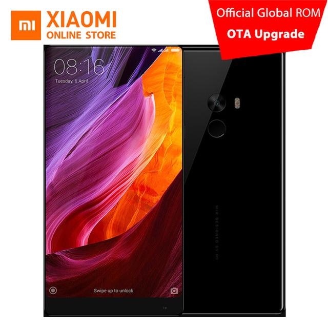 """Original Xiaomi mi Mezcla de Teléfono Móvil 4 GB 128 GB Snapdragon 821 Quad Core 6.4 """"2040x1080 P FHD Pantalla completa 4300 mAh NFC QC3.0"""