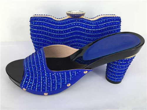 ФОТО New fashion African shoe and bag set for party Italian shoe with matching bag new design ladies matching shoe and bag TT01