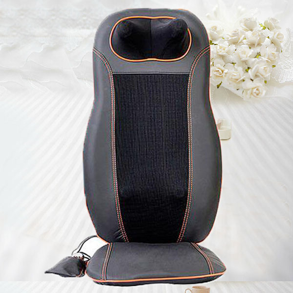 Rolling Massage Chair Shiatsu Infrared Massage Cushion Car Massage Cushion with Heating Function 12V 240337 ergonomic chair quality pu wheel household office chair computer chair 3d thick cushion high breathable mesh