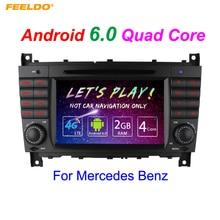 7″ Android 6.0 (64bit) DDR3 2G/16G/4G LTE Quad Core Car DVD GPS Radio Head Unit For Mercedes Benz A Class W169/B Class W245