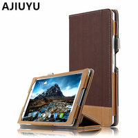 Case For Lenovo Tab 4 8 Plus Smart Cover Protective Protector Leather TB 8704F 8704N Sleeve