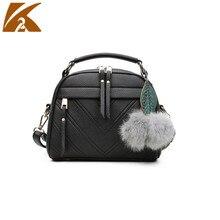 KVKY Crossbody Bags for Women Leather Handbags 2019 Female Casual Shoulder Bag Handbag Woman Messenger Bags цена в Москве и Питере