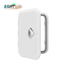 270*375mm ABS Plastic Anti Aging Ultraviolet White Deck Marine Hatch Deck Access Hatch Boat Hatches Inspection Yacht Cover RV